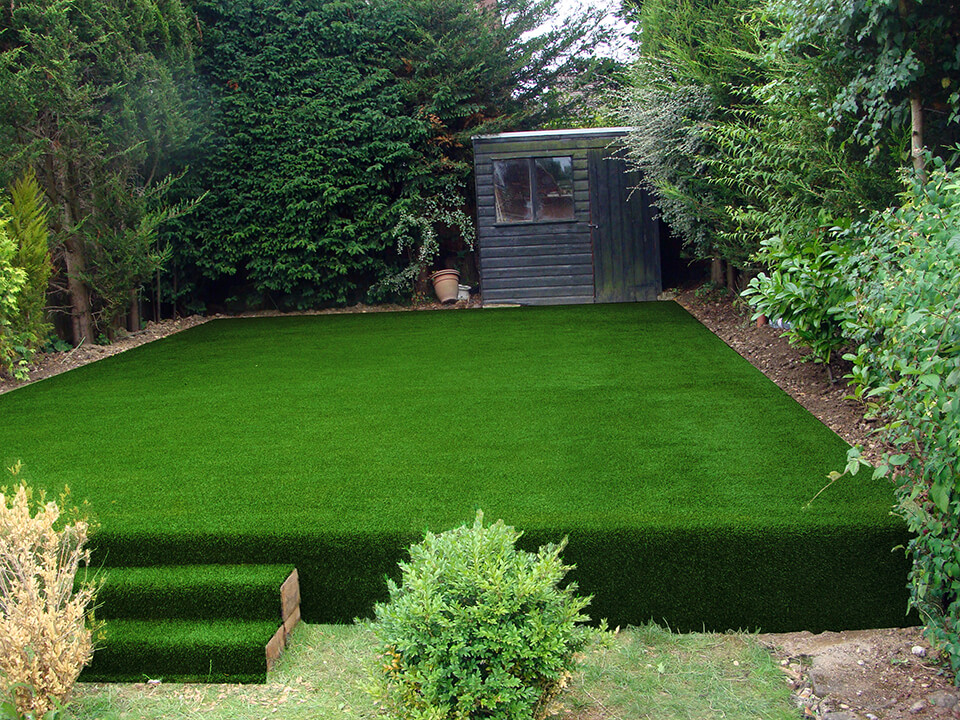 artificial grass with shockpad