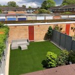 artificial grass garden solihull