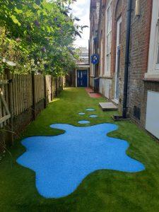 artificial grass for children