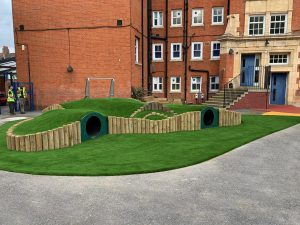 Using Artificial Grass for schools & nurseries