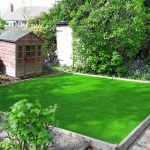 artificial grass feature