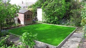 artificial grass feature