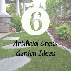 Artificial grass garden ideas